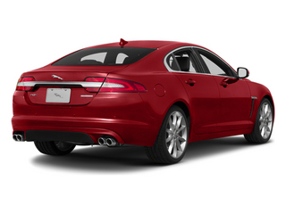 Italian Racing Red 2013 Jaguar XF Pictures XF Sedan 4D V8 Supercharged photos rear view