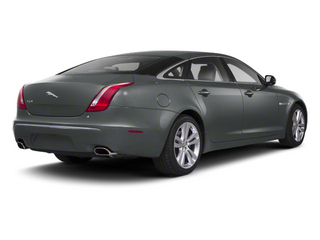 Lunar Grey 2013 Jaguar XJ Pictures XJ Sedan 4D AWD V6 photos rear view
