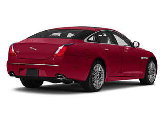 Carnelian Red 2013 Jaguar XJ Pictures XJ Sedan 4D Supersport V8 photos rear view