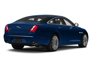 Indigo Blue 2013 Jaguar XJ Pictures XJ Sedan 4D Speed V8 Supercharged photos rear view