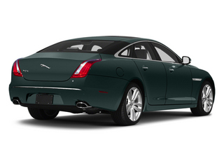 British Racing Green 2013 Jaguar XJ Pictures XJ Sedan 4D L Supersport Speed V8 photos rear view