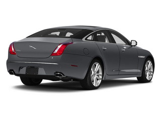 Lunar Grey 2013 Jaguar XJ Pictures XJ Sedan 4D L Portfolio AWD V6 photos rear view