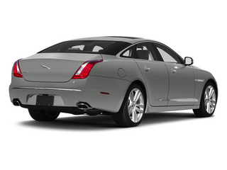 Rhodium Silver 2013 Jaguar XJ Pictures XJ Sedan 4D L Portfolio AWD V6 photos rear view