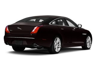Ultimate Black 2013 Jaguar XJ Pictures XJ Sedan 4D L Portfolio AWD V6 photos rear view