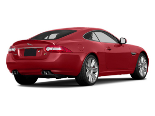 Italian Racing Red 2013 Jaguar XK Pictures XK Coupe 2D XKR Supercharged photos rear view