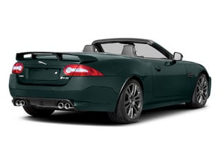 British Racing Green 2013 Jaguar XK Pictures XK Convertible XKR-S Supercharged photos rear view