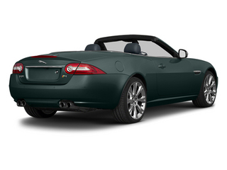 British Racing Green 2013 Jaguar XK Pictures XK Convertible XKR Supercharged photos rear view