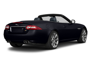 Celestial Black 2013 Jaguar XK Pictures XK Convertible XKR Supercharged photos rear view
