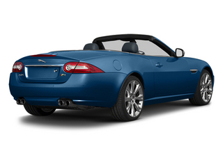 Kyanite Blue 2013 Jaguar XK Pictures XK Convertible XKR Supercharged photos rear view