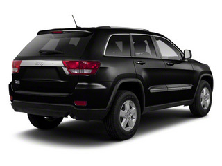 Brilliant Black Crystal Pearl 2013 Jeep Grand Cherokee Pictures Grand Cherokee Utility 4D Laredo 4WD photos rear view