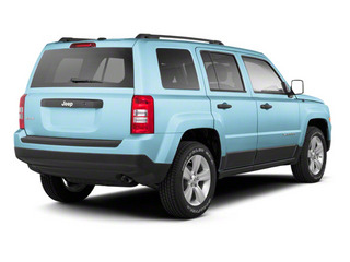 Winter Chill Pearl 2013 Jeep Patriot Pictures Patriot Utility 4D Limited 2WD photos rear view
