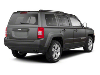 Mineral Gray Metallic 2013 Jeep Patriot Pictures Patriot Utility 4D Limited 2WD photos rear view