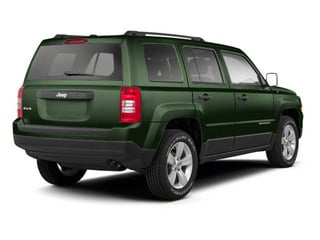Black Forest Green Pearl 2013 Jeep Patriot Pictures Patriot Utility 4D Limited 2WD photos rear view
