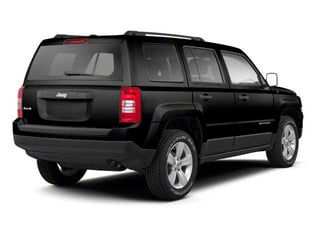 Black 2013 Jeep Patriot Pictures Patriot Utility 4D Limited 2WD photos rear view