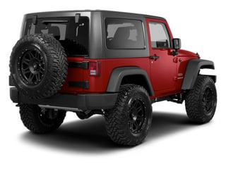 Deep Cherry Red Crystal Pearl 2013 Jeep Wrangler Pictures Wrangler Utility 2D Sahara 4WD photos rear view