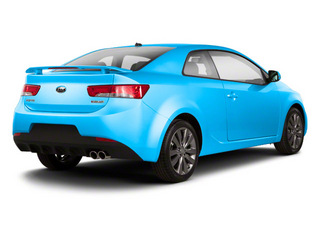 Abyss Blue Pearl Metallic 2013 Kia Forte Koup Pictures Forte Koup Coupe 2D SX I4 photos rear view