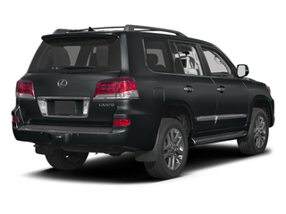 Nebula Gray Pearl 2013 Lexus LX 570 Pictures LX 570 Utility 4D 4WD photos rear view