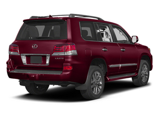Noble Spinel Mica 2013 Lexus LX 570 Pictures LX 570 Utility 4D 4WD photos rear view