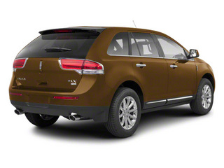 Ginger Ale Metallic 2013 Lincoln MKX Pictures MKX Wagon 4D Elite AWD photos rear view