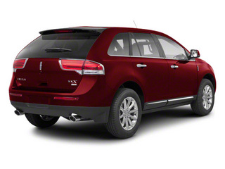 Red Ruby Tinted Metallic 2013 Lincoln MKX Pictures MKX Wagon 4D Elite AWD photos rear view