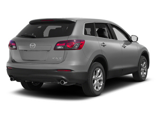 Liquid Silver Metallic 2013 Mazda CX-9 Pictures CX-9 Utility 4D Sport 2WD V6 photos rear view