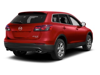 Zeal Red Mica 2013 Mazda CX-9 Pictures CX-9 Utility 4D GT AWD V6 photos rear view