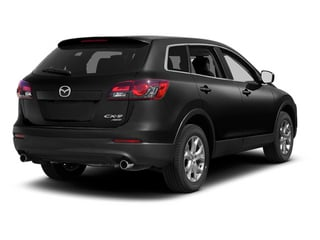 Brilliant Black 2013 Mazda CX-9 Pictures CX-9 Utility 4D Sport AWD V6 photos rear view