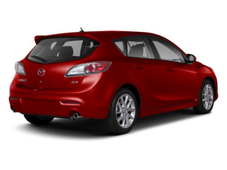 Velocity Red Mica 2013 Mazda Mazda3 Pictures Mazda3 Wagon 5D s GT I4 photos rear view