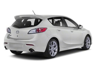 Crystal White Pearl Mica/Black 2013 Mazda Mazda3 Pictures Mazda3 Wagon 5D SPEED I4 photos rear view