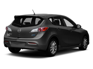 Black Mica 2013 Mazda Mazda3 Pictures Mazda3 Wagon 5D i Touring I4 photos rear view