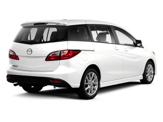 Crystal White Pearl 2013 Mazda Mazda5 Pictures Mazda5 Wagon 5D GT I4 photos rear view