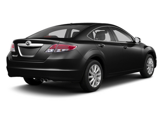 Ebony Black 2013 Mazda Mazda6 Pictures Mazda6 Sedan 4D i Touring Plus photos rear view