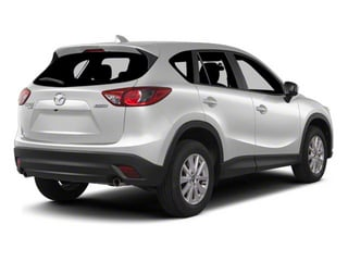 Crystal White Pearl 2013 Mazda CX-5 Pictures CX-5 Utility 4D Touring AWD photos rear view