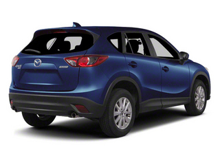 Stormy Blue Mica 2013 Mazda CX-5 Pictures CX-5 Utility 4D Touring AWD photos rear view