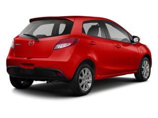 True Red 2013 Mazda Mazda2 Pictures Mazda2 Hatchback 5D Touring I4 photos rear view