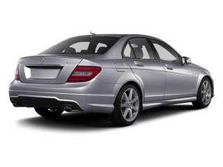 Steel Grey Metallic 2013 Mercedes-Benz C-Class Pictures C-Class Sport Sedan 4D C250 photos rear view