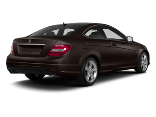 Cuprite Brown Metallic 2013 Mercedes-Benz C-Class Pictures C-Class Coupe 2D C250 photos rear view