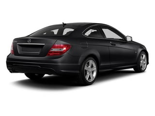 Steel Grey Metallic 2013 Mercedes-Benz C-Class Pictures C-Class Coupe 2D C250 photos rear view