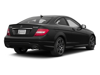 Black 2013 Mercedes-Benz C-Class Pictures C-Class Coupe 2D C350 AWD photos rear view