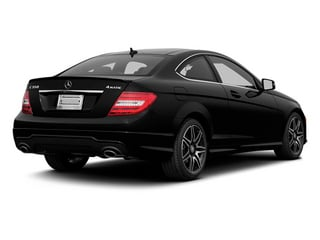 Magnetite Black Metallic 2013 Mercedes-Benz C-Class Pictures C-Class Coupe 2D C350 AWD photos rear view