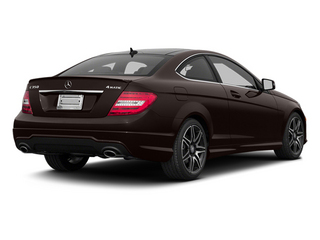 Cuprite Brown Metallic 2013 Mercedes-Benz C-Class Pictures C-Class Coupe 2D C350 AWD photos rear view