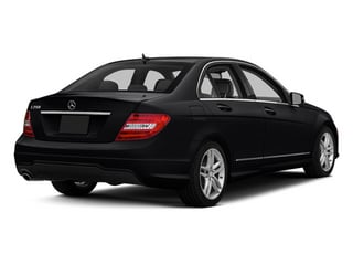 Black 2013 Mercedes-Benz C-Class Pictures C-Class Sedan 4D C250 photos rear view