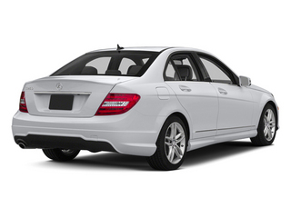 Polar White 2013 Mercedes-Benz C-Class Pictures C-Class Sedan 4D C250 photos rear view
