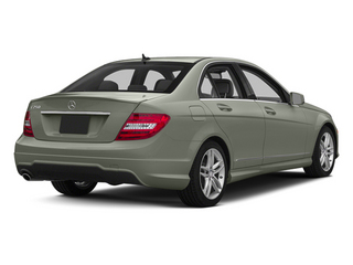 Palladium Silver Metallic 2013 Mercedes-Benz C-Class Pictures C-Class Sedan 4D C250 photos rear view