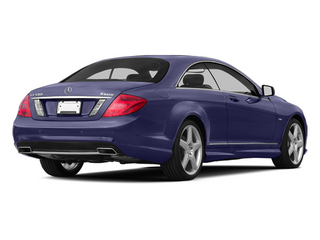designo Mystic Blue Metallic 2013 Mercedes-Benz CL-Class Pictures CL-Class Coupe 2D CL63 AMG photos rear view