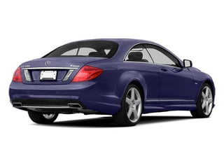 designo Mystic Blue Metallic 2013 Mercedes-Benz CL-Class Pictures CL-Class Coupe 2D CL600 photos rear view