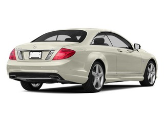 designo Magno Cashmere White Matte 2013 Mercedes-Benz CL-Class Pictures CL-Class Coupe 2D CL600 photos rear view