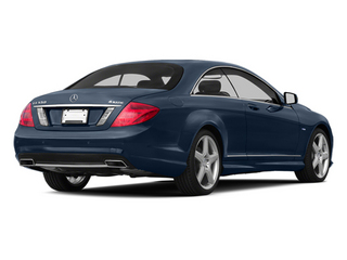 Monarch Blue Metallic 2013 Mercedes-Benz CL-Class Pictures CL-Class Coupe 2D CL600 photos rear view