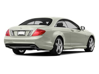 Iridium Silver Metallic 2013 Mercedes-Benz CL-Class Pictures CL-Class Coupe 2D CL600 photos rear view