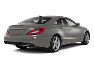 Palladium Silver Metallic 2013 Mercedes-Benz CLS-Class Pictures CLS-Class Sedan 4D CLS550 AWD photos rear view